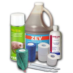 Bandages, instruments, suppléments & santé animale