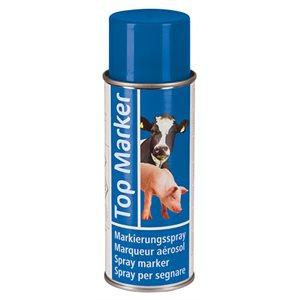 Marqueur en aérosol TOP MARKER Bleu 500 ml