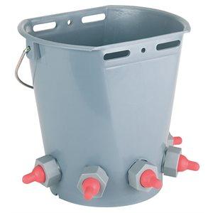 Lamb feeder bucket 5 nipples