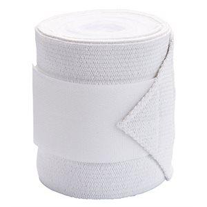 Bandage polo avec bande élastique KERBL blanc emb / 4**