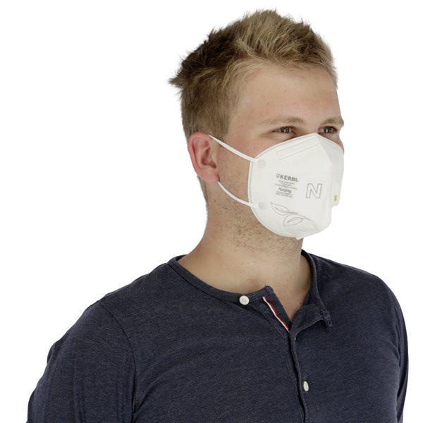 Masque de protection respiratoire KN95 avec valve emb / 5