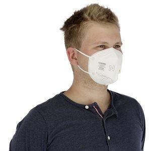 Respirator Mask KN95 with valve pk / 5