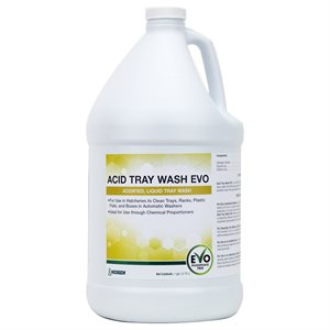Acid Tray Wash EVO lave-plateau liquide acidifié