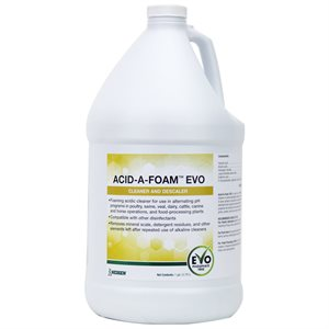 Acid-A-Foam EVO cleaner and descaler