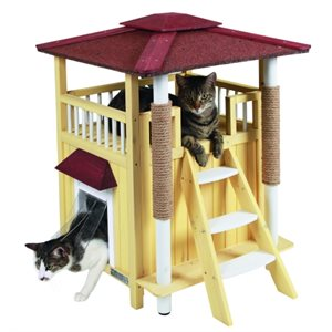 Cat House Toskana with cat trees