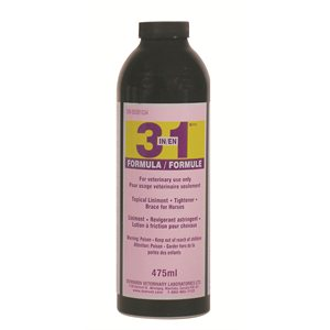 3in1 topical liniment and tightner for horses 475 ml