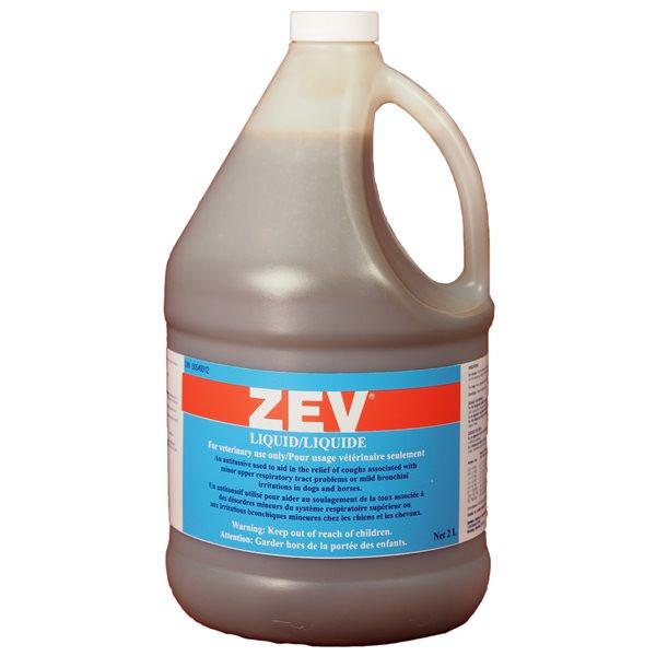 Antitussif ZEV pour chiens et chevaux 2 L