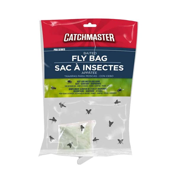 Fly Bag trap baited Catchmaster Pro Series
