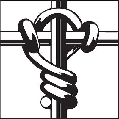 Clôture pour bétail avec noeuds Cross Lock