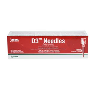 D3 detectable needles box / 100