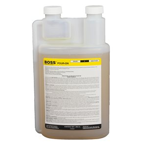 BOSS Pour-On insecticide RTU 900 ml