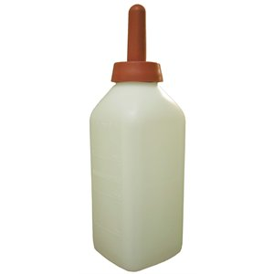 Bottle with snap-on nipple 2 L