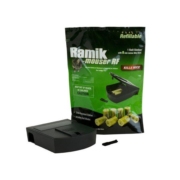 RAMIK Station d'appât rechargeable emb / 8 blocs