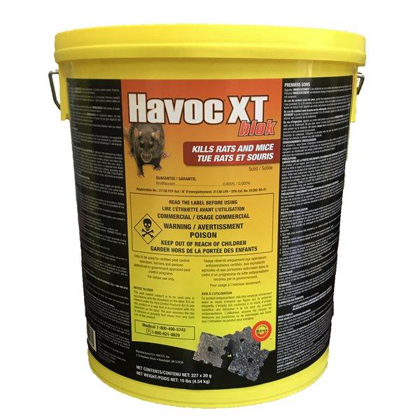 HAVOC-XT Anti-rongeurs Blocs