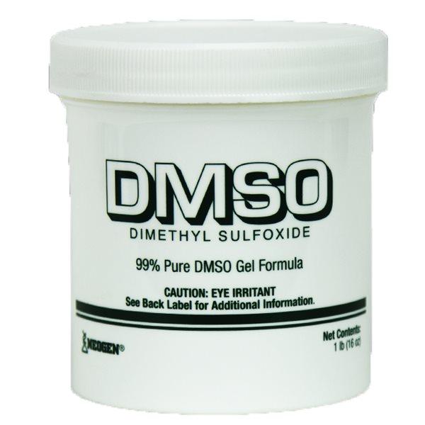 Sulfoxyde de diméthyle 90 % (DMSO) en gel 16 onces