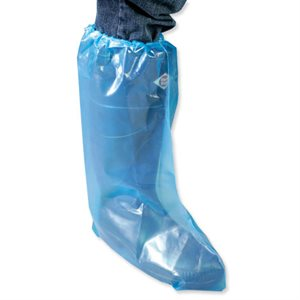 IDEAL disposable overboots with elastic 3.0 mil. bag / 50