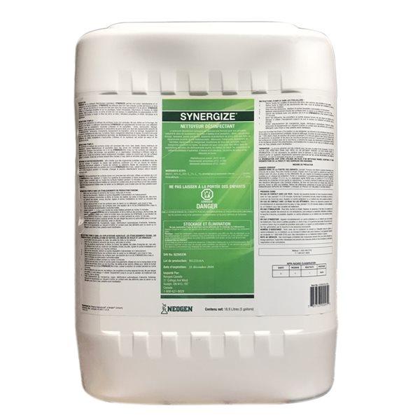 Nettoyeur désinfectant multi-usage Synergize 18.9 L