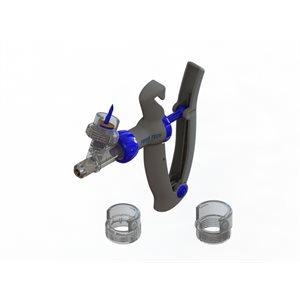 Seringue PRIMA Value porte-flacon adaptateurs 20, 30 & 33 mm