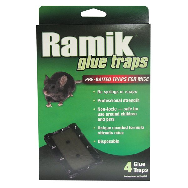 RAMIK Piège collant pour souris emb / 4