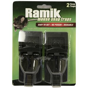RAMIK Mouse Snap Trap pk / 2