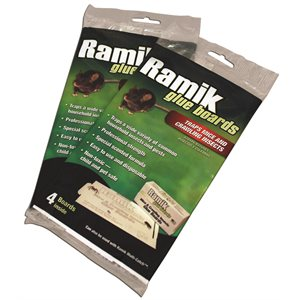 RAMIK Mouse and Insect Glue Board pk / 4