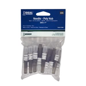 IDEAL disposable PH needles Pk / 25