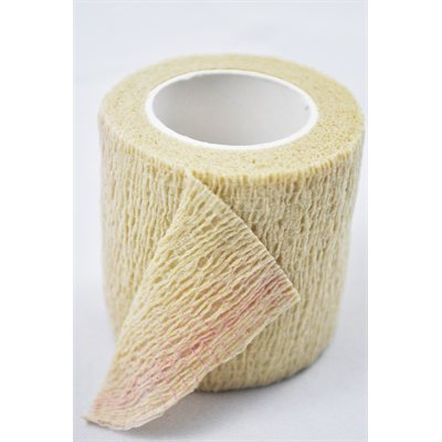 Bandages cohésifs SyrFlex 2'' naturel bte / 36
