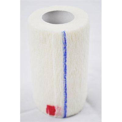 Bandages cohésifs SyrFlex 4'' blanc bte / 18