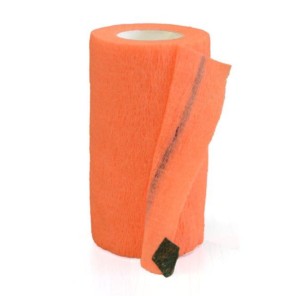 Bandages cohésifs SyrFlex 4'' orange bte / 18