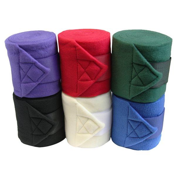 Bandage polo Horse Sense 4 3 / 4'' noir emb / 4