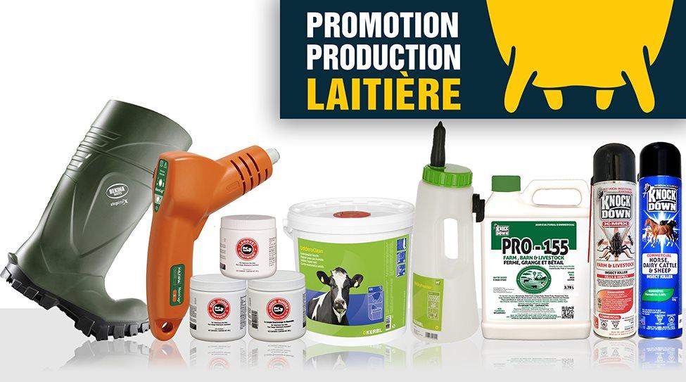 Promotion Production Laitière