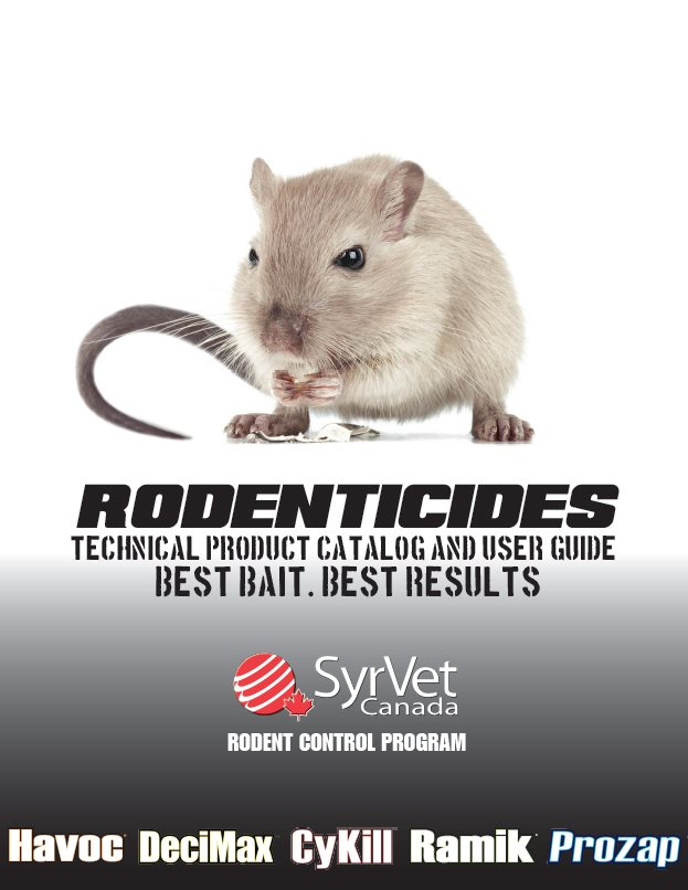 2020 Rodenticide Catalogue
